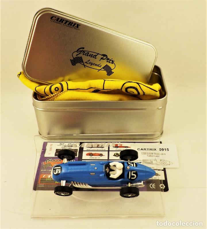 CARTRIX GRAND PRIX LEGENDS. TALBOT LAGO - LOUIS ROSIER 1950 (Juguetes - Slot Cars - Magic Cars y Otros)
