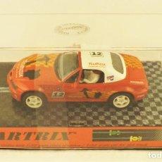 Slot Cars: SLOT CARTRIX BMW Z3 TELEPIZZA CHAMPION RAID. Lote 198683743