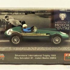 Slot Cars: SLOT CARTRIX UK SLOT CAR FESTIVAL 2011 ASTON MARTIN DBR4 ROY SALVADORI ED LIMITADA 200 UDS.. Lote 198826380