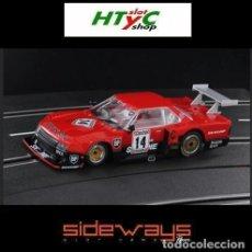 Slot Cars: SIDEWAYS NISSAN SKYLINE GR5 #24 9 HS KYALAMI 1982 HOOBS / POND / HASEMI SW0070. Lote 198946332