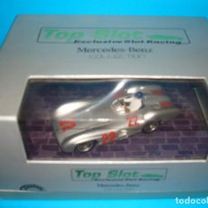 Slot Cars: TOP SLOT - MERCEDES BENZ 196 S #22 REIMS 1954 RESINA SLOT 1:32 NUEVO RTR. Lote 158718074