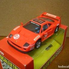 Slot Cars: SCALEXTRIC FERRARI F-40 AUTOSPORT NUEVO CON SU CAJA ORIGINAL. Lote 199121453