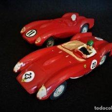 Slot Cars: LOTE DE 2 FERRARI 250 TR STROMBECKER. Lote 199164145