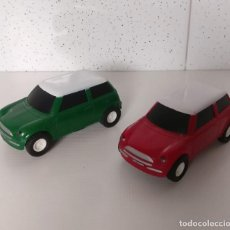 Slot Cars: DOS SLOT CAR - MINI COOPER - BMW . Lote 199238887