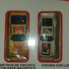 Slot Cars: TURBO RACING ,CIRCUITO NO SCALEXTRIC. Lote 199525363