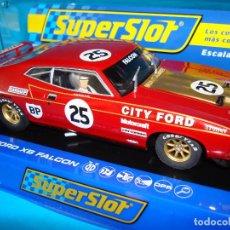 Slot Cars: SUPERSLOT SCALEXTRIC FORD XB FALCON DICK JOHSON #25 H3491 SLOT CAR 1:32 NUEVO. Lote 199742642