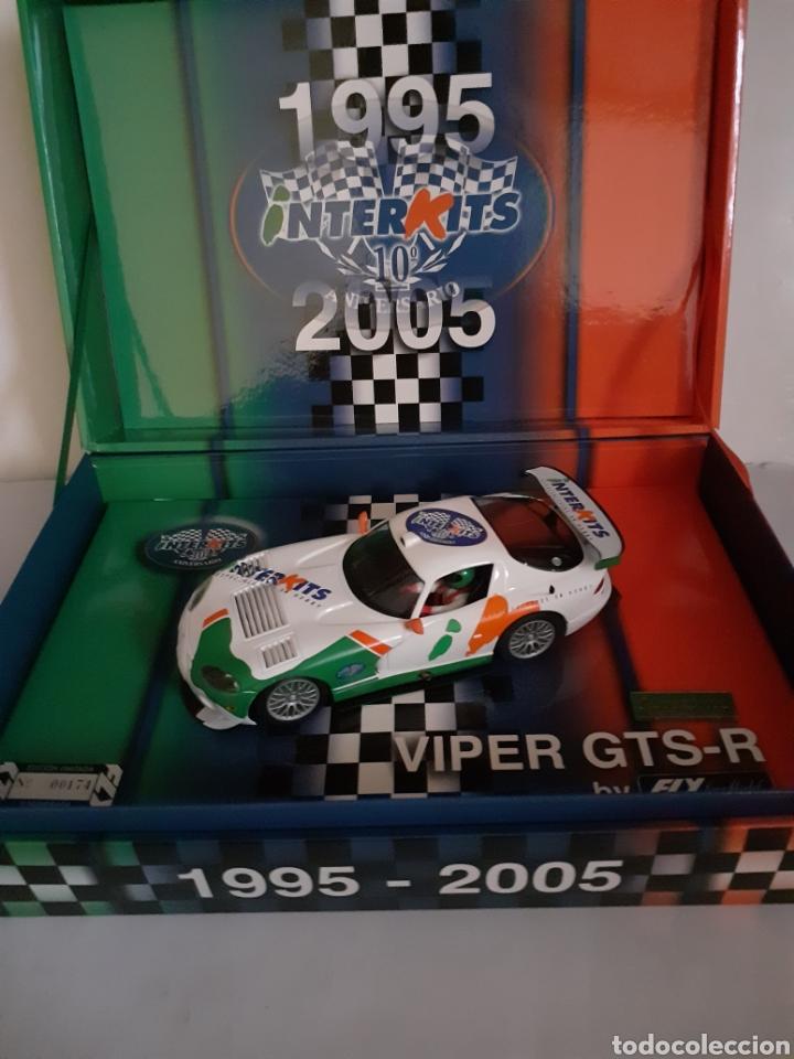 Slot Cars: FLY SCALEXTRIC VIPER GTS CONMEMORATIVO INTERKITS NUEVO - Foto 2 - 199762286