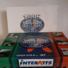 Slot Cars: FLY SCALEXTRIC VIPER GTS CONMEMORATIVO INTERKITS NUEVO. Lote 199762286