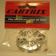 Slot Cars: LLANTAS CLASSIC DE 32 RADIOS CARTRIX NUEVAS. Lote 199780320