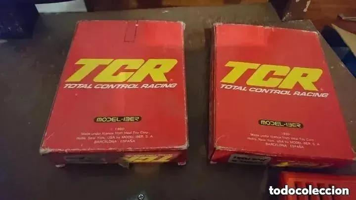 Slot Cars: OCASION UNICA DOS MANDOS EN SUS CAJAS 1980 COCHE A Y COCHE B REF. 7030 Y 7031 SCALEXTRIC TCR - Foto 3 - 241893680