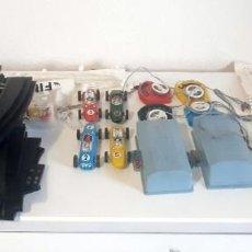 Slot Cars: VINTAGE LOTUS SUPER 4 LANES SPEEDTRAX ESCALA 1/43 DE LOS AÑOS 60 APROXIMADAMENTE . Lote 200362101