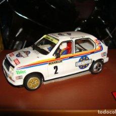 Slot Cars: OCTANE OC-05 CITROEN VISA CHRONO BY HOBBY CLASSIC RESINA SLOT CAR 1:32 RTR. Lote 200597575
