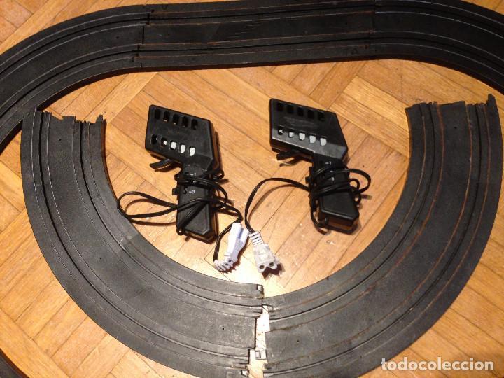 Slot Cars: Mandos y pistas, hot weels,tipo scalesxtric,para piezas. - Foto 2 - 200831890