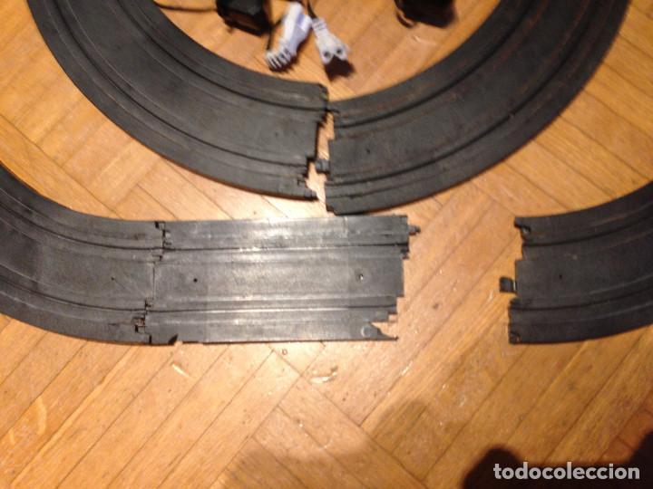 Slot Cars: Mandos y pistas, hot weels,tipo scalesxtric,para piezas. - Foto 3 - 200831890