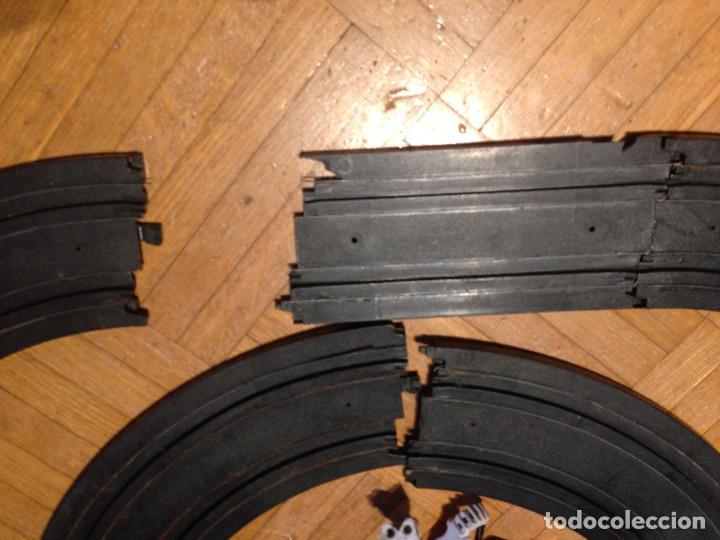 Slot Cars: Mandos y pistas, hot weels,tipo scalesxtric,para piezas. - Foto 4 - 200831890