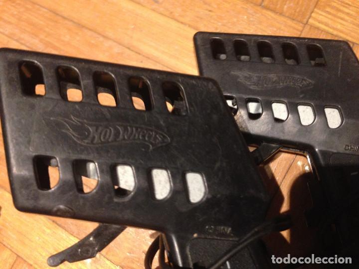 Slot Cars: Mandos y pistas, hot weels,tipo scalesxtric,para piezas. - Foto 10 - 200831890