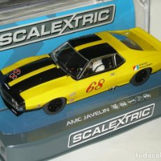 Slot Cars: AMC JAVELIN SUPERSLOT/SCALEXTRIC NUEVO EN CAJA. Lote 201264287