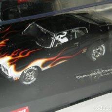 Slot Cars: CHEVROLET CHEVELLE CARRERA EVOLUTION/SCALEXTRIC NUEVO EN CAJA. Lote 201273315