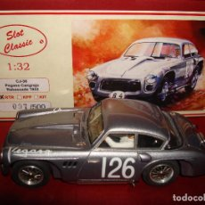Slot Cars: SLOT CLASSIC CJ-36 PEGASO CANGREJO RABASSADA 1953 RESINA SLOT CAR 1:32 NUEVO RTR. Lote 201561443