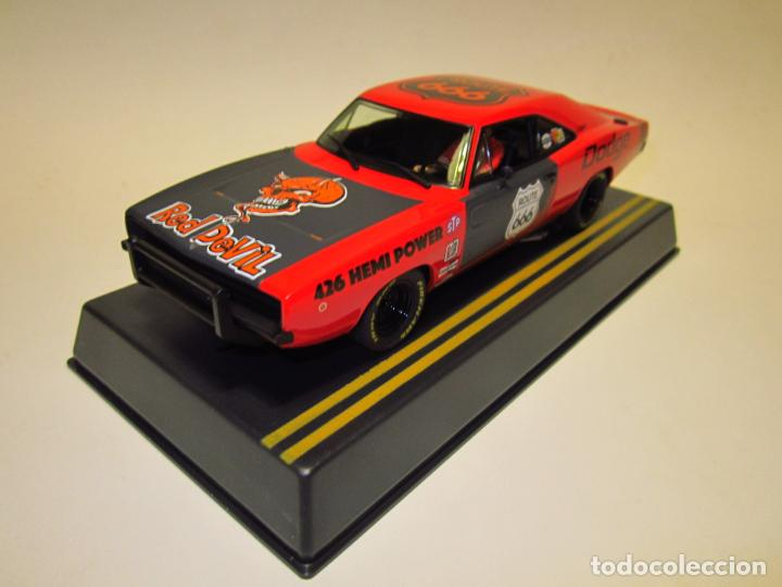 DODGE CHARGER RED DEVIL PIONEER NUEVO (Juguetes - Slot Cars - Magic Cars y Otros)