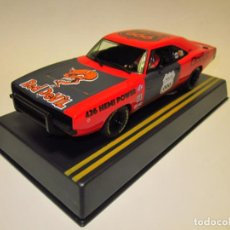 Slot Cars: DODGE CHARGER RED DEVIL PIONEER NUEVO. Lote 202725848