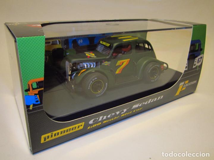 Slot Cars: CHEVY SEDAN LEGENDS RACERS PIONEER NUEVO - Foto 11 - 202727127