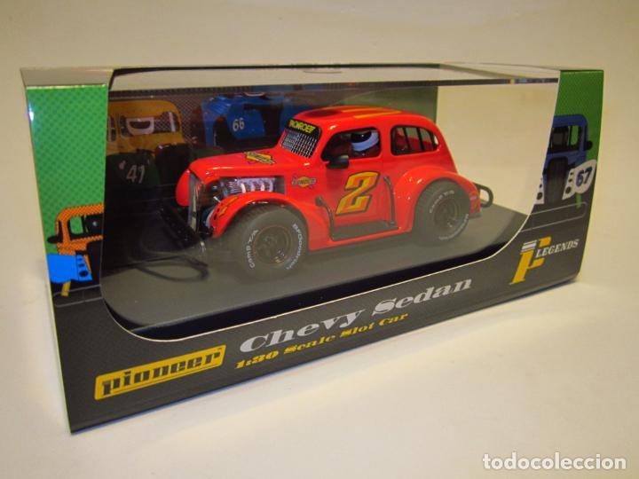 CHEVY SEDAN LEGENDS RACERS PIONEER NUEVO (Juguetes - Slot Cars - Magic Cars y Otros)
