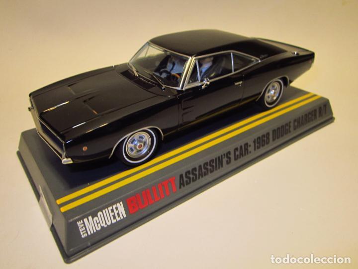Slot Cars: DODGE CHARGER BULLIT ASSASIN PIONEER NUEVO - Foto 2 - 202915940