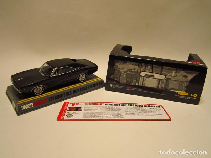Slot Cars: DODGE CHARGER BULLIT ASSASIN PIONEER NUEVO - Foto 13 - 202915940