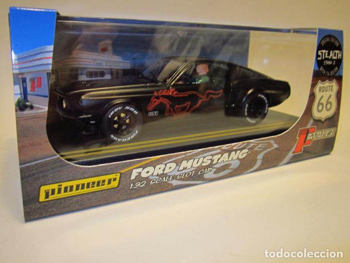 Slot Cars: FORD MUSTANG ROUTE 66 PIONEER NUEVO - Foto 16 - 202916587