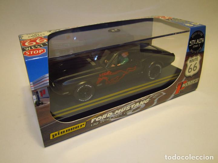 Slot Cars: FORD MUSTANG ROUTE 66 PIONEER NUEVO - Foto 17 - 202916587