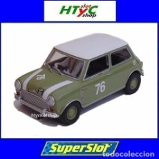 Slot Cars: SUPERSLOT AUSTIN MINI COOPER #76 GOODWOOD 2018 ADAM / SWIFT SCALEXTRIC UK H4059. Lote 202992156