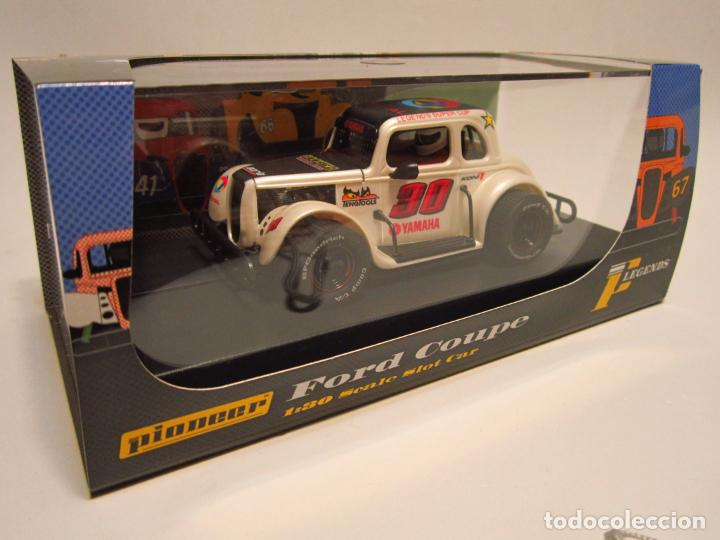 FORD COUPE LEGENDS RACERS PIONEER NUEVO (Juguetes - Slot Cars - Magic Cars y Otros)