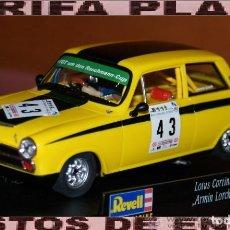 Slot Cars: LOTUS CORTINA ESCALA 1:32 SLOT DE REVELL EN CAJA. Lote 203789453