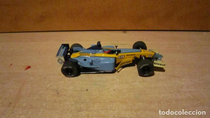 SUPERSLOT HORNBY RENAULT F1 F. ALONSO SERIE LIMITADA. RARO. (Juguetes - Slot Cars - Magic Cars y Otros)