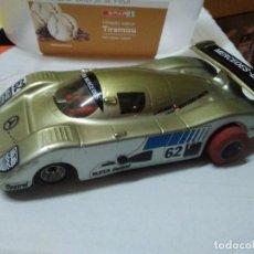 Slot Cars: MERCEDES BENZ V8 SAUBER DORADO. Lote 204106563