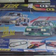 Slot Cars: TCR CAJA COMPLETA PISTA CON RAMPA.. Lote 204360245
