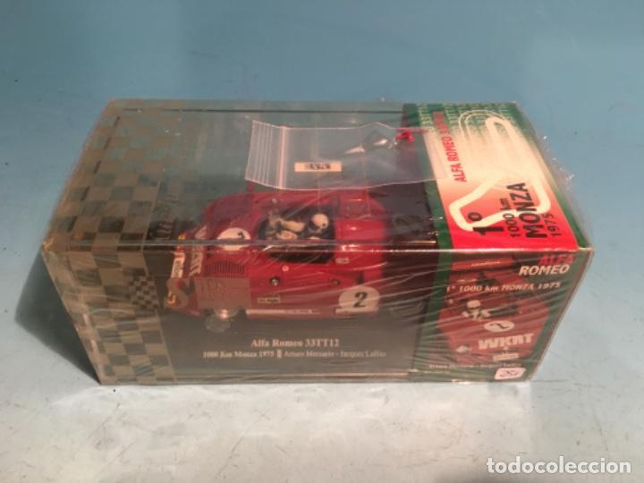 SRC ALFA ROMEO 33TT12 1000 KM MONZA 1975 (Juguetes - Slot Cars - Magic Cars y Otros)