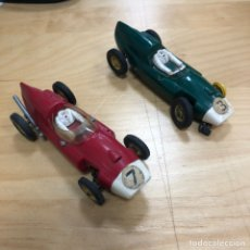 Slot Cars: ANTIGUOS DOS COCHES SLOT TIPO SCALEXTRIC.. Lote 204659061