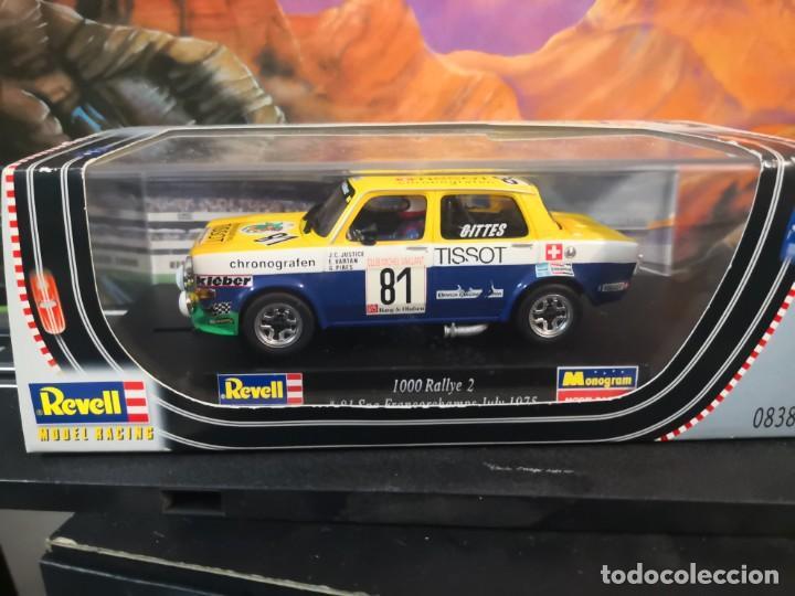 SIMCA 1000 RALLYE 2 Nº 81 FRANCORCHAMPS 1975 TISSOT REVELL (Juguetes - Slot Cars - Magic Cars y Otros)
