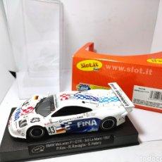 Slot Cars: SLOT.IT BMW MCLAREN F1 GTR 3° LE MANS 1997 REF. SICA10B. Lote 205649692