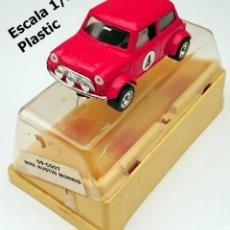 Slot Cars: SLOT SCALEXTRIC MECCANO FRANCIA DEL AÑO 1977 - MINI AUSTIN MORRIS 09-C007. Lote 206286293