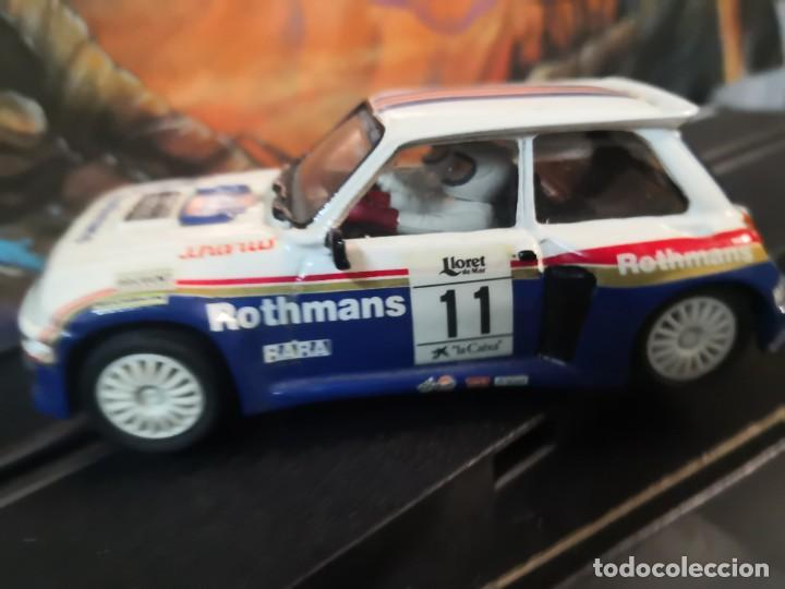 CARCASA O CARROCERÍA RENAULT ROTHMANS 11. TEAM SLOT (Juguetes - Slot Cars - Magic Cars y Otros)