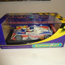 Slot Cars: SUPERSLOT. MG LOLA. LE MANS 2004. Nº25. REF. H2660. Lote 206418263