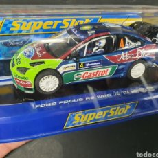 Slot Cars: SUPERSLOT FORD FOCUS RS WRC. Lote 206864051
