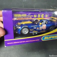 Slot Cars: SUPERSLOT DODGE VIPER COMPETICIÓN COUPE. Lote 206866437