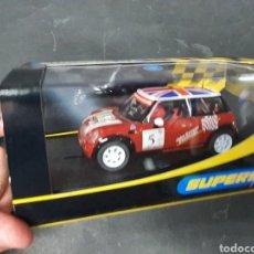 Slot Cars: SUPERSLOT MINI COOPER S. Lote 206866837