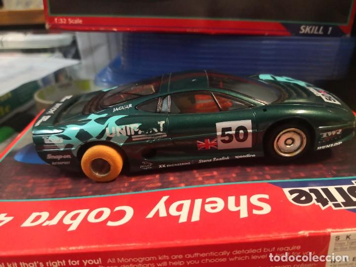 HORNBY HOBBIES JAGUAR 12V MADE ENGLAND (Juguetes - Slot Cars - Magic Cars y Otros)