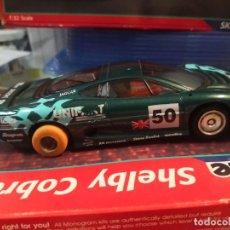 Slot Cars: HORNBY HOBBIES JAGUAR 12V MADE ENGLAND. Lote 206949316