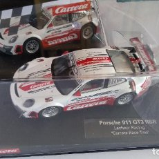 Slot Cars: CARRERA EVOLUTION PORSCHE 911 GT3 RSR, NUEVO EN URNA.VÁLIDO SCALEXTRIC,FLY,NINCO,ETC. Lote 207225953